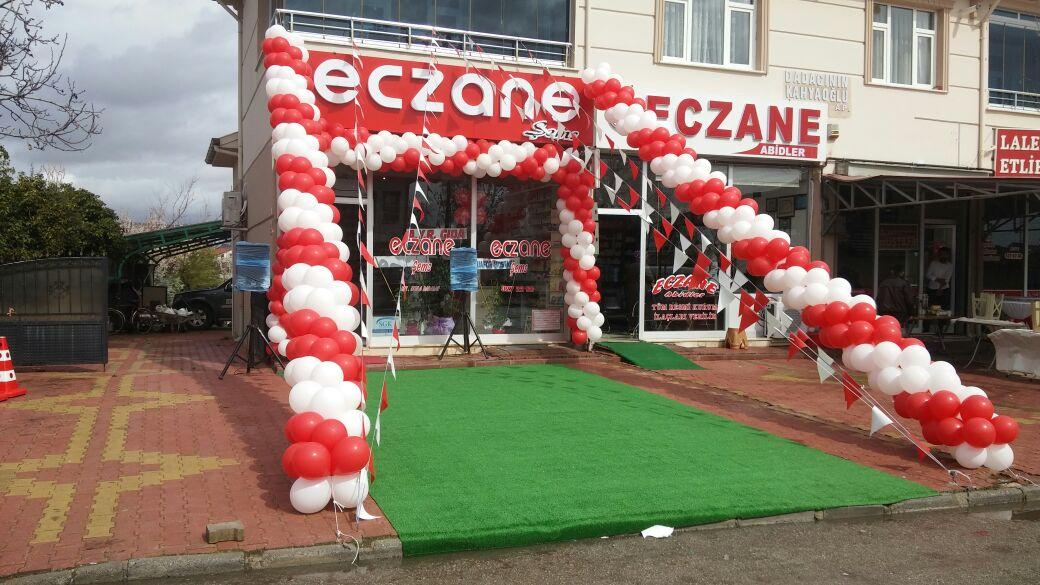 nizip açılış organizasyon balon süsleme